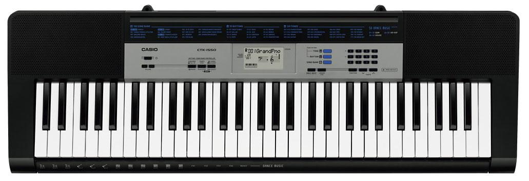 Синтезатор Casio CTK-1550: фото