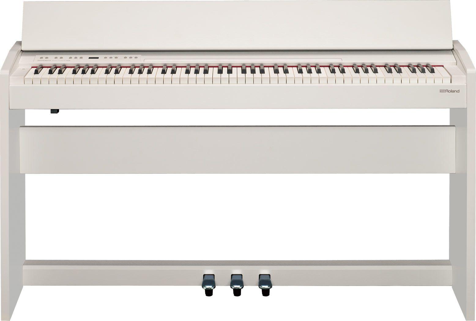 Цифровое фортепиано Roland F140RWH: фото