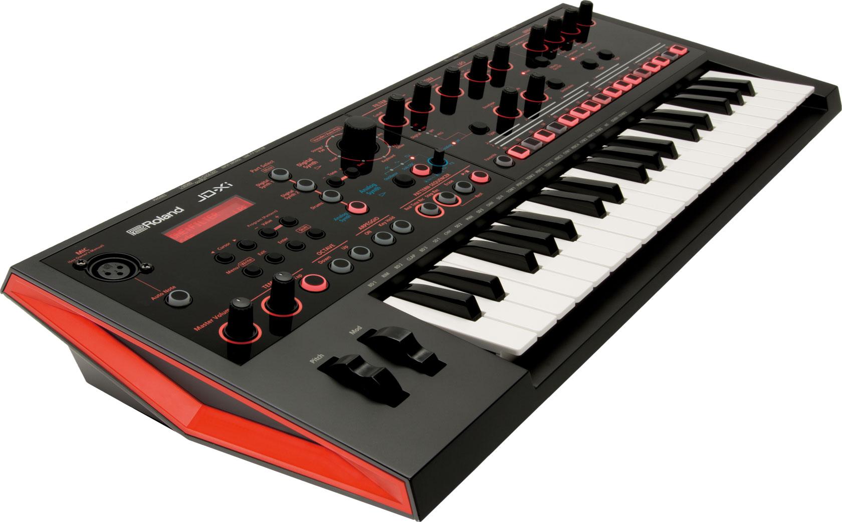 Синтезатор Roland JD-XI: фото