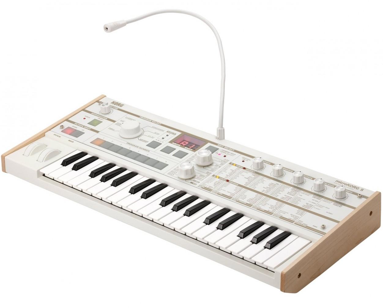 Аналогово-моделирующий синтезатор KORG microKORG S MK-1S: фото